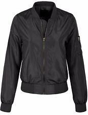 Women's Basic Zip Up Lightweight Bomber Jacket Various Styles S,M,L