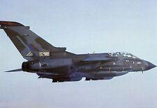 RAF TORNADO 617 SQUADRON -  LARGE POSTCARD.