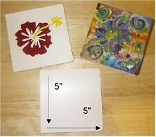 PLAIN WHITE CHUNKY BOARD BOOKS ALL BLANK TO SELF ILLUSTRATE 5X5 (6) PGS.