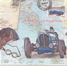 Lot de 2 Serviettes en papier Voyage en Italie Decoupage Collage Decopatch