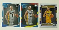 2017-18 Panini Optic Rookie Lonzo Ball RC Lot (3) Los Angeles Lakers