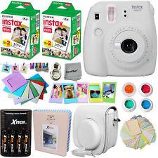 FujiFilm Instax Mini 9 Camera WHITE + Accessories KIT for Fujifilm Instax Mini 9