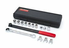 Ratcheting Wrench Serpentine Belt Tool Long Bar Gear Wrench 16 Pieces Brand New