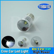 1x1156 Ba15s 382 P21W 5W CREE XPE LED BULBS HIGH POWERED WHITE CANBUS ERROR FREE
