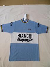 Santini Retro Cycling Jersey Bianchi Campagnolo
