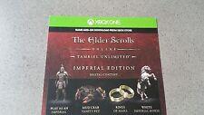 Xbox One The Elder Scrolls Online DLC Voucher Card - Tamriel Imperial Edition