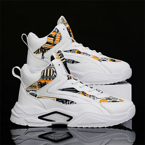 Men's Autumn/Winter High Top Casual Shoes Outdoor Comfortable Sports Shoes