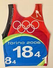 TORINO 2006 - PETTORALE OLIMPIADI INVERNALI - Olympic Bib CROSS COUNTRY