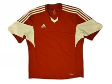 Adidas Clima Cool 3 White Stripe Jersey Men 2Xl Red and white