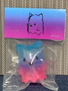 Luke Chueh   2.5 inch Ghostbear     Blue Pink