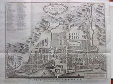 Carta mappa Isola AMBOINE AMBON  isola Indonesia Asia acquaforte 1718 BELLIN