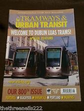 TRAMWAYS & URBAN TRANSIT # 800 - DUBLIN LUAS TRAMS - AUG 2004