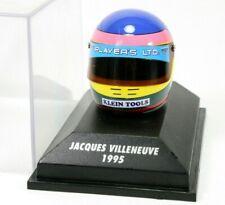 Indy Car 1/8 Jacques Villeneuve 1995 CART Helmet (TOBACCO) Indianapolis 500 Win
