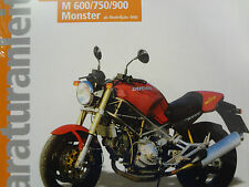 Reparaturanleitung, Buch, Ducati Monster M 600, M 750, M 900, ab 1993, Band 5214