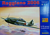 Reggiane Re 2006  Italian WWII Fighter - RS Models Kit 1:72 92086 Nuovo