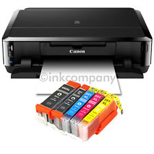 Canon Pixma IP7250 impresora de inyección Tinta para fotos cd-bedruck + 5x XL