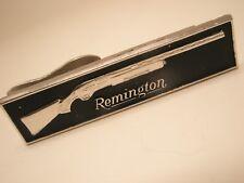 Remington Pump Shotgun ADVERTISING Vintage ROBBINS COMPANY Tie Bar Clip gift
