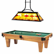 UL Listed Tiffany Style 3-Light Pool Table Chandelier.