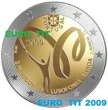 2  EURO   PORTUGAL   PIECE  COMMEMORATIVE   NEUVE    2009         disponible