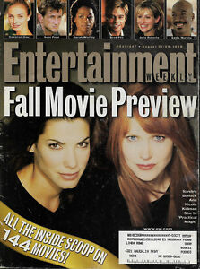 Entertainment Weekly Magazine August 21 1998 Sandra Bullock Nicole Kidman