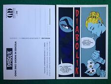 Cartolina Card DIABOLIK - LA MORTE BUSSA DUE VOLTE , Promocard n 47/709 (1997)