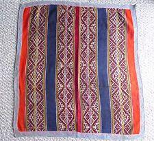 Peruvian Hand woven Aguayo Table Cloth-  Andean Mountain Textile