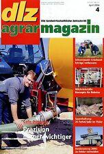 dlz 2006 4/06 Claas Ares 577 Valtra N Reichert Zusatz Anbautank Herbizide Mais