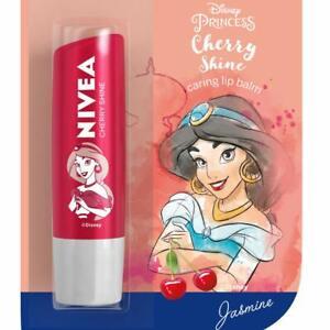 NIVEA Lip Balm, Disney Limited Edition, Cherry, 4 g FREE SHIP