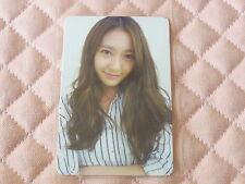 (ver. Krystal) Fx f(x) 2nd Mini Album Electric Shock Photocard SNSD Jessica