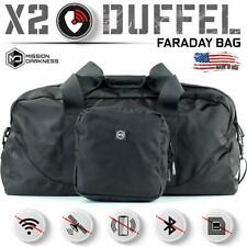 Mission Darkness X2 Faraday Duffel Bag (Comes w/ Detachable MOLLE Faraday Pouch)