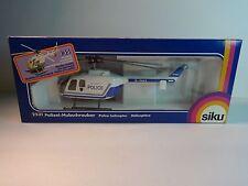 Siku German 1:55 White Sussex Police (Polizei) Hubschrauber Helicopter w/ box