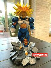 Figurine en Résine Dragon Ball Z Trunks Furie 31Cm face Cell Final Envois 24/48H