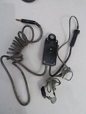 SW-141-V Switch and T45 Mic Signal Corps BC1000 SCR300 BC659 SW-141 Willys MB