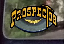 "ProSticker 600 (One) 3"" Prospector Decal Sticker Gold Panning Treasure Hunt"