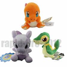 3pcs Pokemon Mewtwo + Charmander + Snivy Plush Soft Doll Toy Xmas Gift US Ship