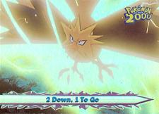 Pokémon the Movie 2000 Topps RAINBOW Foil Card 35 (R3)