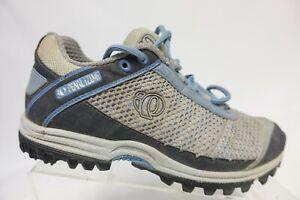 PEARL IZUMI X-Alp Seek Grey Sz 7 (38 EU) Women Cycling Shoes