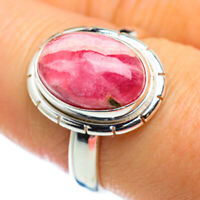 Rhodochrosite 925 Sterling Silver Ring Size 8 Ana Co Jewelry R48784F