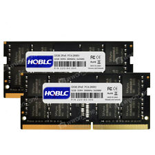 64GB 2X32GB PC4-2666V-S DDR4-21300S 260PIN 1.2V NON ECC SO-DIMM Laptop Memory