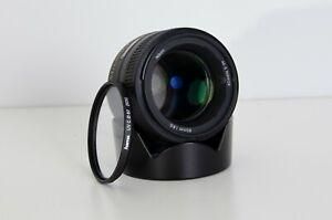 Nikon 85 1.8g Portraitobjektiv für Nikon Vollformat (FX) F-Mount - gebraucht+ UV