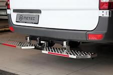 MARCHE-PIEDS REFLECHISSANT INOX, VW CADDY 15- FIXATION SUR ATTELAGE,