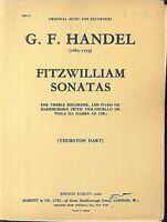 G. F. Händel ~ FITZWILLIAM SONATAS - Flöte, Klavier, Cello