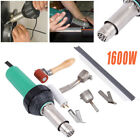 Ridgeyard 1600W Gun Heat Hot Air Plastic Welding Tool Kit Welder Tip Nozzle Rod