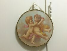 Victorian Flue Cover Vintage Replica Gallery Graphics Shabby Cherub Angel Decor
