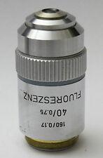 Leitz 40 0.75 Fluoreszenz  Microscope Objective Lens 40x Fluorescence