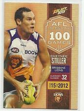 2013 AFL SELECT CHAMPIONS MILESTONE GAME MG09 Cheynee Stiller Brisbane LIONS