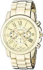 XOXO Womens Gold-Tone Bracelet Watch