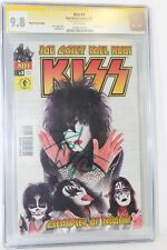 Kiss #3 Photo Cover CGC 9.8 SS Signature Series Signed by Peter Criss