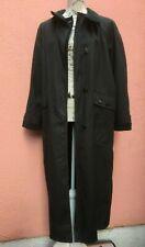 Ladies Rain Coat UK 18 Duster Green EU 46 Michael Mortell Waterproof Maxi Full