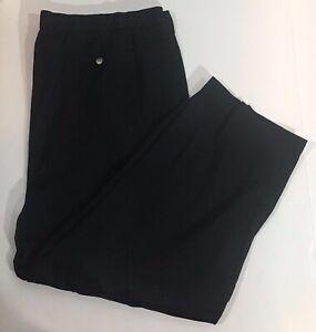 Mens Big And Tall Black Casual Pants size 3XL